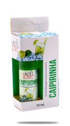 Gel Comestivel Soft Love Ice Caipirinha 15ml