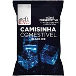 Camisinha Comestivel  Black Ice Soft Love